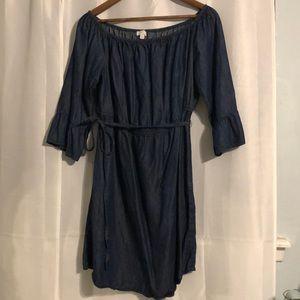 Jean Dress/ Navy Blue